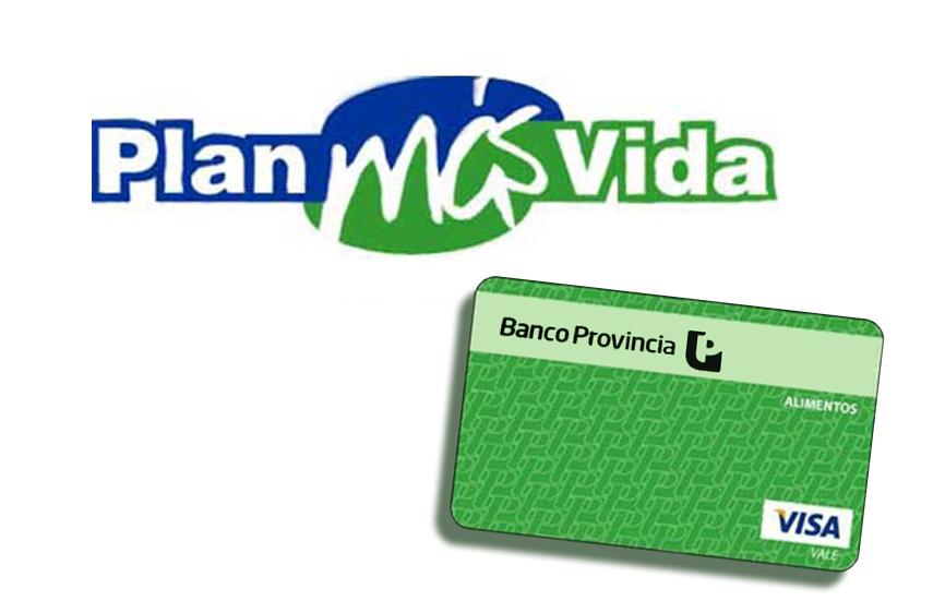 Plan mas vida - Tarjeta Verde -Tarjeta Azul