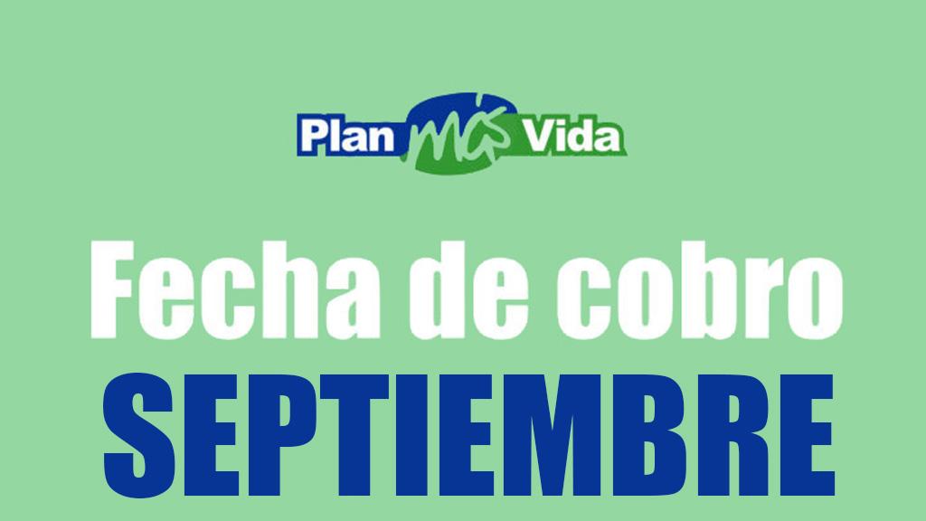 Plan mas vida Septiembre