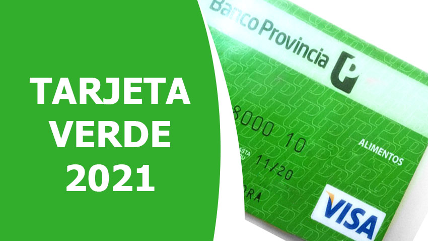 consultar Saldo Tarjeta Verde 2021